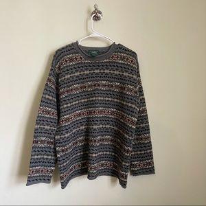 Vintage Hand Knit Ralph Lauren Sweater